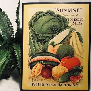 Other - SUNRISE SIGN Put Up BY W.D. Burt Co. Dalton N.Y.